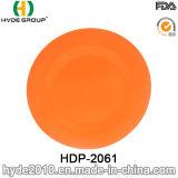 Piatto di bambù organico della fibra di vendite calde (HDP-2061)