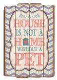 Nuovo segno dell'annata della retro del segno della parete decorazione di legno calda della casa
