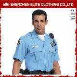 Noi polizia mettiamo le uniformi in cortocircuito bianche di obbligazione del manicotto (ELTHVJ-279)