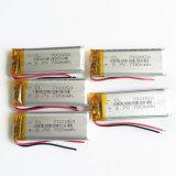 batterie rechargeable de Lipo de Li-Polymère de lithium de 3.7V 700mAh 702050 pour l'appareil-photo d'écouteur de Bluetooth d'e-book de la garniture DVD de l'écouteur MP3