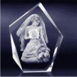 다이아몬드 아크릴을%s 무결함 운동 3D Laser 조각 기계
