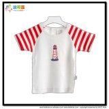 T-shirt nouveau-né de Gots de taille de vêtement fait sur commande de bébé