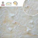 o vestuário do bordado, o bonito e da forma da tela do laço da flor 3D Accessorize C10016