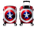 La valise à roues promotionnelle de chariot à impression fait sur commande enferme le bagage