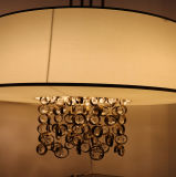 Una lampada Pendant Bronze dei 2016 cristalli con il nuovo disegno