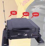 4CH HDD 4G 4cameras DVR móvel para a monitoração do veículo