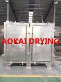 Calor Powdery - máquina de secagem sensível de vácuo das matérias- primas