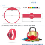 High Temperature Resistance NFC Silicone Bracelet for Access Control