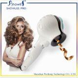 陶磁器の蒸気LEDの温度の設定のデジタルヘア・カーラー