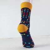 Punkt-glückliche Socke mit Qualität