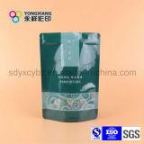El tamaño y el color modificados para requisitos particulares Stand up Ziplock Snack Food Plastic Package