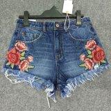 工場2017本の夏の方法女性の不足分のデニムの不足分のジーンズ