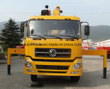 Dongfeng 4*2 180 HP-teleskopischer Kran hing am Ladung-LKW-Preis ein