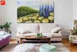 Хризантема Impressionism цветет искусствоо Pianting с рамкой