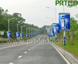 Placa do sinal do diodo emissor de luz da cor cheia de IP65 P5 para a borda da estrada ao ar livre que anuncia