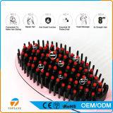 Cepillo eléctrico de Alisado enderezadora del hierro Pantalla LCD eléctrica peine plancha para el pelo