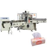 Tecido do lenço que faz a máquina de embalagem do papel do guardanapo da máquina do pacote