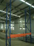 Prateleira de aço da cremalheira da pálete do armazenamento Foldable resistente do armazém do transporte do armazém