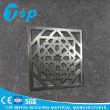 Comitato solido di alluminio intagliato CNC di uso di progetto per la decorazione della parete
