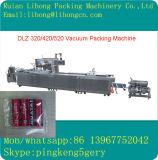 Completamente máquina de empacotamento contínua automática do vácuo dos peixes frescos do estiramento Dlz-460