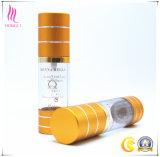 Безвоздушная стеклянная бутылка насоса для продуктов внимательности косметики и кожи