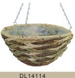 Cesta colgante durable decorativa del jardín