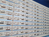 Il doppio di alluminio della scheda del PWB ha parteggiato MCPCB 2With il Mk HASL Lf