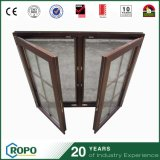 Indicador interno da volta de Tilt& das cortinas de vidro Soundproof do dobro do perfil do PVC