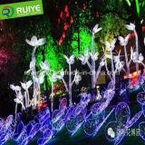 Neue Blume der Ankunfts-LED beleuchtet Hauptdekor