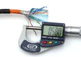 CAT6 im Freien SFTP 1000FT 23AWG 0.58mm Körper-Kupfer-Netz-Kabel-elektronisches Kabel
