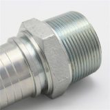 Raccord de tuyau hydraulique en acier inoxydable forgé mâle NPT (15611)