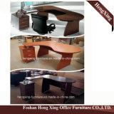 (HX-RY0039) L di mogano forniture di ufficio di MFC della scrivania del gestore di figura