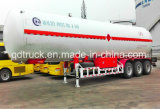 de 25tons 56000liters ASME S516 LPG do tanque do LPG reboque material Semi