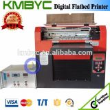 Byc168 A3 크기 6 색깔 UV 평상형 트레일러 인쇄 기계