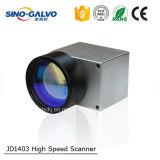 Varredor eficiente do Galvo do laser da peça Jd1403 da máquina de gravura do laser do custo elevado