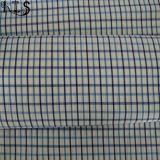 衣服のワイシャツまたは服Rls50-24poのための綿ポプリンの編まれたヤーンによって染められるファブリック