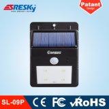 Lampada solare del giardino di movimento di prezzi bassi del sensore dell'indicatore luminoso di obbligazione di uso esterno solare della casa