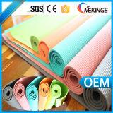 Estera lavable de la gimnasia de la yoga del aseguramiento comercial hecha en China