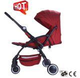 Europäischer Standard-Aluminiumrahmen-faltbarer Baby-Kinderwagen mit Auto-Sitz (CA-BB318)