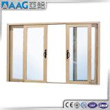 Puertas deslizantes de aluminio de la doble vidriera de la rotura termal