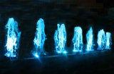 Fuente de interior de la música del agua de Serac del uso del jardín con la luz colorida del LED