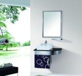 Export-StandardEdelstahl-einzelner Wäsche-Bassin-Badezimmer-Entwurfs-Schrank