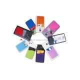 Portatarjetas móvil del silicón pegajoso elegante de la carpeta los 3m