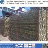 Cage galvanisée de filtre de la poussière