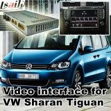 Поверхность стыка автомобиля видео- для места etc Фольксваген Sharan Tiguan Skoda с системой Mib, Android задим навигации и панорамой 360 опционной