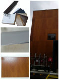 Película de envolvimento exterior/folha do PVC para perfis do indicador & da porta