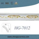 Het Afgietsel van de Kroonlijst van de Kroon Moulding/PU van het polyurethaan voor de Decoratie van het Plafond