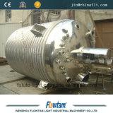 El tanque de mezcla químico de la calefacción de vapor del acero inoxidable
