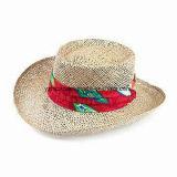 Trilby sombrero de paja de papel