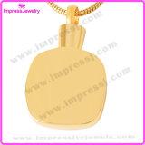 Nam de Gouden HerdenkingsHalsband van de Tegenhangers van de Juwelen van de Crematie met Kristallen Pingentes Atacado Lote toe